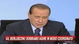 22/02/2009 - G4, Berlusconi: L'Italia si è mossa con tempestività
