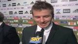 Beckham, settimana decisiva per trattativa Milan-Galaxy