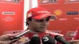 Massa prova la nuova Ferrari
