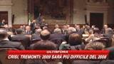 05/03/2009 - Crisi, allarme di Tremonti: il 2009 peggio del 2008