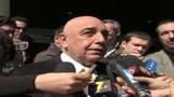 Italcalcio in crisi, Galliani: Crollato il fatturato