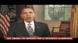 14/03/2009 - Obama cambia anche l'alimentazione