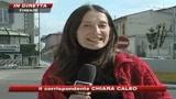 15/03/2009 - Primo viaggio per la contestata tramvia di Firenze