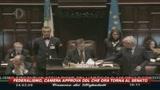24/03/2009 - Federalismo Fiscale, sì della Camera. Il Pd si astiene