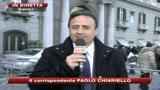 Napoli, Berlusconi incontra lavoratori Fiat Pomigliano