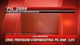 26/03/2009 - Crisi, nuovo allarme Confindustria su lavoro e crescita