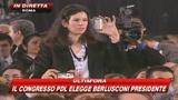 29/03/2009 - Berlusconi: una visionaria follia mi ha guidato fin qui