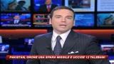 Pakistan, drone Usa spara missile e uccide 13 talebani
