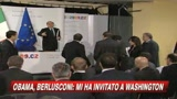 05/04/2009 - Praga, Berlusconi: Obama mi ha invitato a Washington