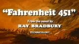 FAHRENHEIT 451 - IL TRAILER