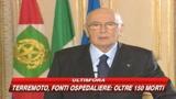 Terremoto Abruzzo, Napolitano: mondo intero ci è vicino