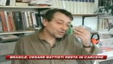 Brasile, Cesare Battisti resta in carcere