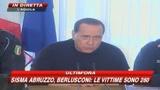 Berlusconi: Affidare ricostruzione Abruzzo a Province