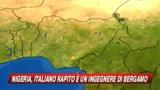 Nigeria, rapito un ingegnere italiano