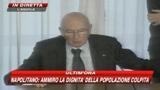 Napolitano in Abruzzo: Serve esame di coscienza