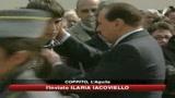 La promessa solenne di Berlusconi: nessuno restera solo