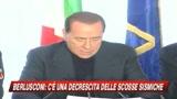 Abruzzo, Berlusconi: emergenza quasi finita