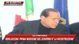 Abruzzo, Berlusconi: entro 2 mesi verifiche sulle case