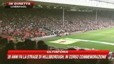Liverpool ricorda la strage di Hillsborough