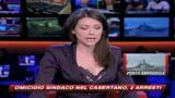 Sindaco ucciso e bruciato nel Casertano, due arresti