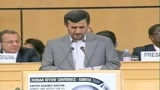 Durban 2, Ahmadinejad contestato all'Onu