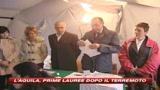 L'Aquila, le prime lauree dopo il terremoto