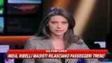India, ribelli maoisti rilasciano ostaggi treno