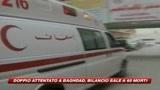 Doppio attentato a Baghdad, almeno 60 morti
