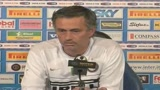 25/04/2009 - Mourinho si tiene stretto Ibrahimovic