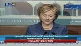 Clinton:  Usa vogliono un Libano indipendente