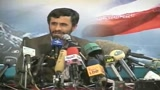 Mo, Ahmadinejad apre all'ipotesi di due Stati