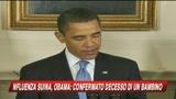 Febbre suina, Obama: La situazione è seria