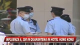 Influenza A, 300 in quarantena in hotel a Hong Kong