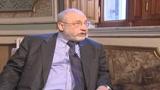 Stiglitz: Non siamo vicini alla fine della crisi