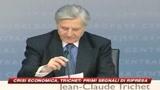 Crisi, Trichet vede i primi segnali di ripresa