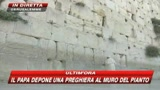 Il Papa prega al Muro del Pianto GUARDA LE IMMAGINI