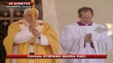 Papa a Nazareth, folla a messa al Monte del Precipizio