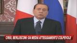 Crisi, Berlusconi: Il peggio è passato