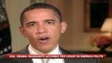 Obama: raggiunto accordo per legge su energia pulita