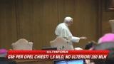 28/05/2009 - Crisi, Papa: Ha ancora effetti pesanti sui deboli