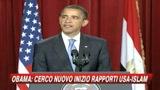 04/06/2009 - Obama all'Islam: E' tempo di un nuovo inizio