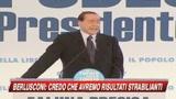 04/06/2009 - Elezioni, Berlusconi: Avremo risultati strabilianti