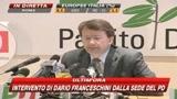 Elezioni 2009, Franceschini: Europa pervasa dalla paura