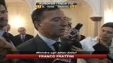 Europee, Frattini: Soddisfatti sia per Pdl che per Ppe