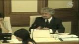 Beppe Grillo al Senato: gli eventi stanno precipitando