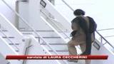 Gheddafi lascia l'Italia
