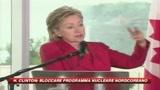 Nucleare, Hillary Clinton avverte la Corea del Nord