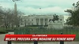 Berlusconi vola a Washington