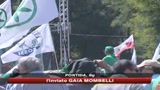 Lega a Pontida, Bossi: noi indispensabili per governo