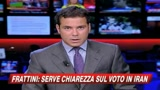 Frattini: Serve chiarezza sul voto in Iran
